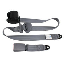 New 3 Point Car Front Seat Belt Buckle Kit Automatic Retractable Safety Straps