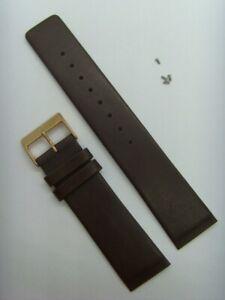 Uhrband Uhrarmband Leder schwarz SKAGEN original 233XXLRL und 233XXLRLD