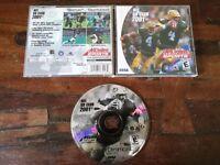 NFL QB CLub 2001 Akklaim Sports Dreamcast Sega Usa Completo e Perfetto