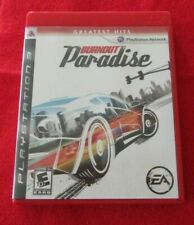 Burnout Paradise (Sony PlayStation 3, 2008) Greatest Hits