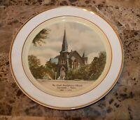 Taylor Smith First Presbyterian Texas  Church Collectors Plate Preston-Hopskin