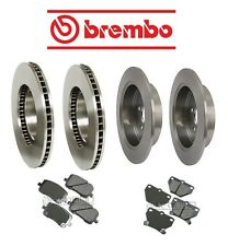 For Toyota Corolla 05-06 Front & Rear Brake KIT Disc Rotors Pads Brembo/Akebono