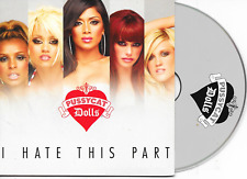 PUSSYCAT DOLLS - I hate this part CD SINGLE 2TR EU Cardsleeve 2008