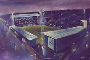 Prenton Park, Tranmere Rovers -  A3 print