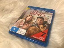 Life As We Know It - Blu Ray Free Postage! - Ex Rental