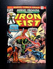 COMICS: Marvel Premiere #17 (1974), 1st Ninja/Triple-Iron app - RARE (iron fist)