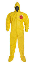Dupont Tyvek Tychem Qc122s 5414 Chemical Hazmat Coverall Suit Sizes Xl 3xl
