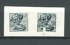 YUGOSLAVIA SHS CROATIA 1918 - INDEPENDENCE Hrvatska Listopad PROOF/ESSAY IN PAIR
