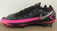 Nike Phantom GT Elite FG Soccer Cleats Black/Pink Blast CK8439-006 Men's Sizes