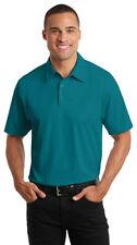 Port Authority Men's Polyester Three Button Short Sleeve Polo Shirt. K571