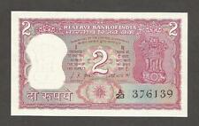 India 2 Rupees N.D. (1969); UNC; P-67a; L-B252a; Gandhi Commemorative