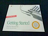 Vintage Apple Getting Started Macintosh IIsi Manual FACTORY SEALED 030-3967-A