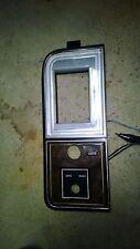 1977 1978 1979 Lincoln Town Car Cartier Continental Headlight switch Dash Bezel