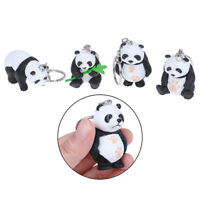 2019 Panda Key chain New Cute Panda Keychain for Bag Car Key Ring GiftsJ №[