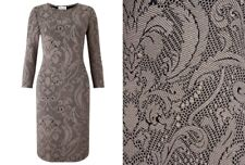 Somerset by Alice Temperley Natural Textured Bodycon Dress BNWT SIze 8 RRP £95