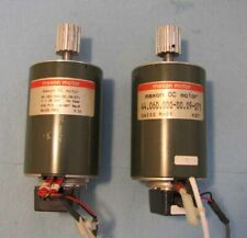 2 PCS MAXON 112-087 / 44.060.000-00.09-071 DC MOTOR WITH ENCODER SWISS MADE