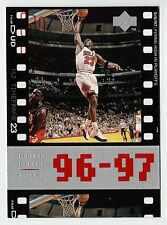 Michael Jordan 98 UD Timeframe23 Flying high in Playoff Official Basketball card