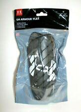 Under Armour UA Flex Shinguards Mens Black/White Sz M Medium (4'7''-5'3'') 140cm