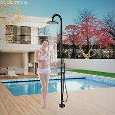 Doccia da giardino con miscelatore piscina esterno,soffione a pioggia e doccetta