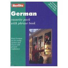 Berlitz German Cassette Pack (Berlitz Cassette Pack), Berlitz Guides | Audio Cas