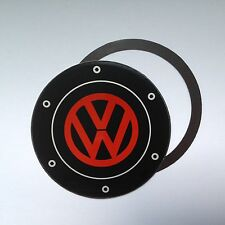 Magnetic Tax disc holder fit any vw volkswagen camper beetle polo golf up red b