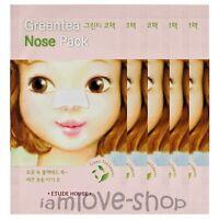 [Etude House] Greentea Nose Pack 5 sheets green tea
