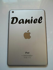 Apple Ipad Mini De Vinilo Sticker Personalizado Forte nombre de la fuente Laptop Tablet