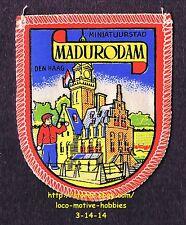 LMH PATCH Badge MADURODAM Miniatuurstad Park  DEN HAAG Hague NETHERLANDS Holland