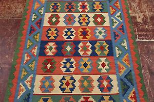 Nomaden Kelim fein Unikat Perser Teppich Orientteppich 1,47 X 1,04