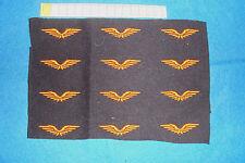 lot d'Ailes de l'Armée de l'Air non découpées / petit modèle Béret Troupe 1940