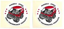 "Parnelli Jones Race Car Body Fender Bumper Decals 3""x3"" US FREE SHIPPING 2s"
