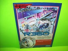 Sega R360 Original Motion Simulator Video Arcade Game Flyer Japan R 360 Rare