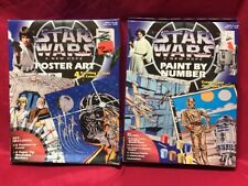 STAR WARS Acrylic Paint by Number - A New Hope- Vintage 1996 NEW