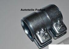 Rohrverbinder Abgasanlage 45,5 mm x 80 mm, CITRÖN, DACIA, FIAT,  LANCIA, PEUGEOT
