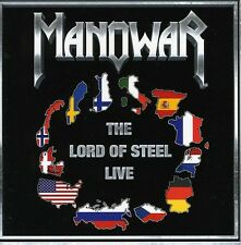 Manowar - Lord of Steel-Live [New CD] Germany - Import