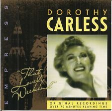 Dorothy Carless - That Lovely Weekend (1995) CD