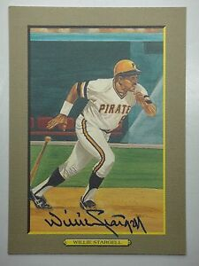WILLIE STARGELL BECKETT BAS SIGNED PEREZ-STEELE GREAT MOMENTS CARD #38 B95394
