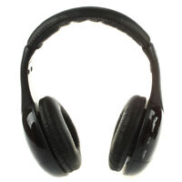 5-in1 HiFi Wireless Headphone Earphone FM Radio Monitor MP3 PC TV Audio Mob S7X8