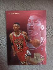 Fleer Scottie Pippen Basketball Trading Cards