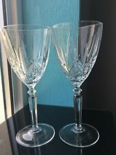 Clear Crystal Goblets Wine Glasses Balloons Set of 2 Serving Drink 200ml Cups