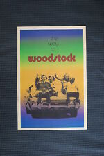 Woodstock Tour Poster 1969 #5