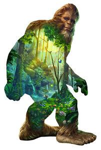 Jigsaw puzzle Fantasy Mythology Big Foot freeform 850 piece NEW Made in USA