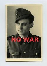 WWII ORIGINAL GERMAN WAR PHOTO ELITE DIVISION Sturmmann PORTRAIT 37