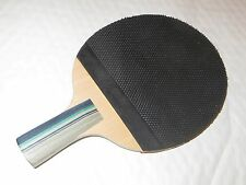 Basic unique (pips out, PENHOLD) rubber table tennis racket ping pong paddle CS