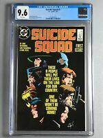 Suicide Squad 1 - CGC 9.6 - First Titled Series