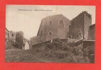 PEROUGES - Eglise et porte extérieure   (J4947)