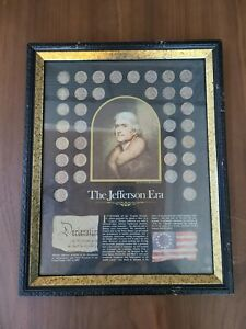 The Jefferson Era - The New York Historical Society Framed Nickel Collection