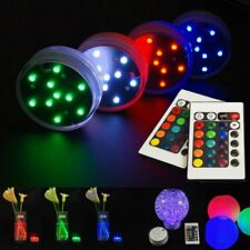 Lampada Luce Subacquea 10 Led 16 Colori Cromoterapia Decorazione Linq Led-h603