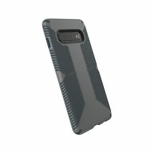NEW Speck Presidio Grip Samsung Galaxy S10 Graphite/Charcoal Grey FREE SHIP