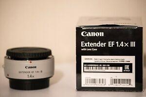 Canon EF Extender 1.4x III with Lens Case